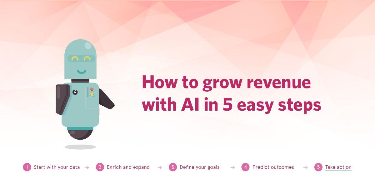 How to grow revenue with AI in 5 easy steps