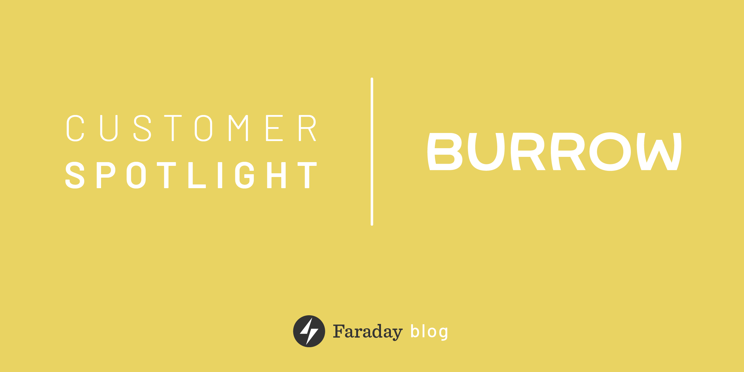 Customer Spotlight: How Burrow used data science to reinvent the furniture industry