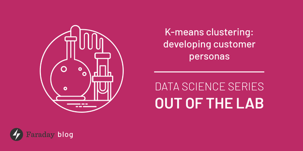 K-means clustering: Developing customer personas